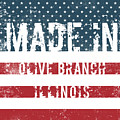 Made In Olive Branch, Illinois by Tinto Designs