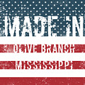 Made In Olive Branch, Mississippi by Tinto Designs