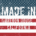 Made In Oregon House, California by Tinto Designs