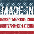 Made In Paradise Inn, Washington by Tinto Designs