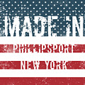 Made In Phillipsport, New York by Tinto Designs