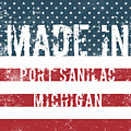 Made In Port Sanilac, Michigan by Tinto Designs
