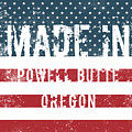 Made In Powell Butte, Oregon by Tinto Designs