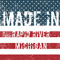 Made In Rapid River, Michigan by Tinto Designs