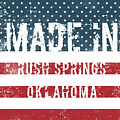 Made In Rush Springs, Oklahoma by Tinto Designs