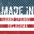 Made In Sand Springs, Oklahoma by Tinto Designs