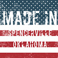 Made In Spencerville, Oklahoma by Tinto Designs