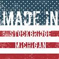 Made In Stockbridge, Michigan by Tinto Designs