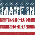 Made In West Branch, Michigan by Tinto Designs