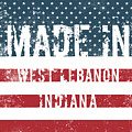 Made In West Lebanon, Indiana by Tinto Designs