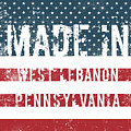 Made In West Lebanon, Pennsylvania by Tinto Designs