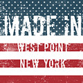 Made In West Point, New York by Tinto Designs