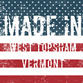 Made In West Topsham, Vermont by Tinto Designs