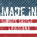 Made In White Castle, Louisiana by Tinto Designs