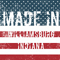 Made In Williamsburg, Indiana by Tinto Designs