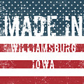 Made In Williamsburg, Iowa by Tinto Designs