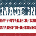 Made In Williamsburg, Massachusetts by Tinto Designs