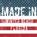 Made In Winter Beach, Florida by Tinto Designs