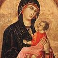 Madonna And Child by Duccio