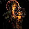 Madonna And Child by Ellen O'Reilly