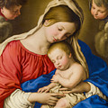 Madonna And Child by Sassoferrato