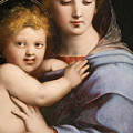Madonna Of The Candelabra by Raphael