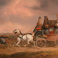 Mail Coaches On The Road by Mountain Dreams