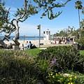 Main Beach Laguna by John Loyd Rushing