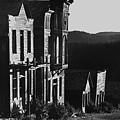 Main Street Ghost Town Elkhorn Montana 1971 by David Lee Guss