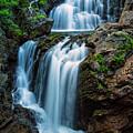 Majestic Fall Crystal Cascade Pinkham Notch Nh by Jeff Sinon