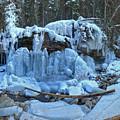 Maligne Canyon Frozen by Adam Jewell