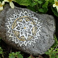 Mandala Stone  by Vania