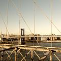Manhattan Bridge View  by Alissa Beth Photography