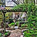 Manhattan Community Garden by Joan Reese