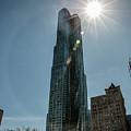 Manhattan Skyscraper by Teresa Wilson