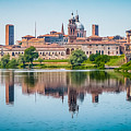 Mantua Skyline by JR Photography