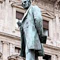 Manzoni Statue by Valentino Visentini
