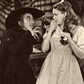 Margaret Hamilton And Judy Garland In The Wizard Of Oz 1939 by Mountain Dreams
