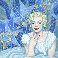 Marilyn Monroe, Old Hollywood Series by Julia Khoroshikh