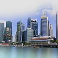 Marina Bay Singapore by Charuhas Images