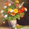 Market Flowers Impression by David Olander