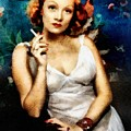 Marlene Dietrich, Vintage Actress by John Springfield