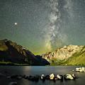 Mars And The Milky Way by Surjanto Suradji