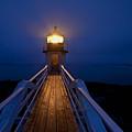 Marshall Point Light Station by John Greim