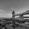 Marshall Point Lighthouse Reflections by Michael Ver Sprill