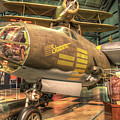 Martin B-26g, Marauder, Shootin In by Greg Hager