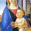 Mary With Baby Jesus by Munir Alawi