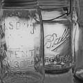 Mason Jar 1858  by Amy Steeples
