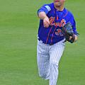 Matt Harvey New York Mets by Bruce Roker