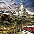 Matterhorn Panorama by Anthony Dezenzio